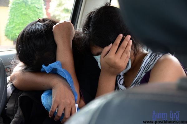 Cambodian women were survived from trafficking in Malaysia. by Pha Lina