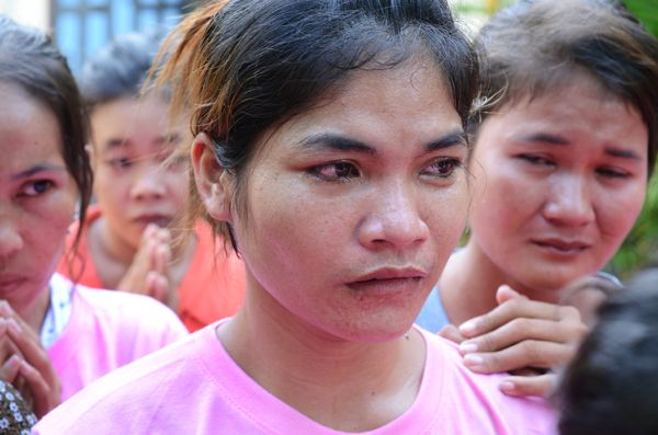 Cambodian women were survived from Malaysia. The Post