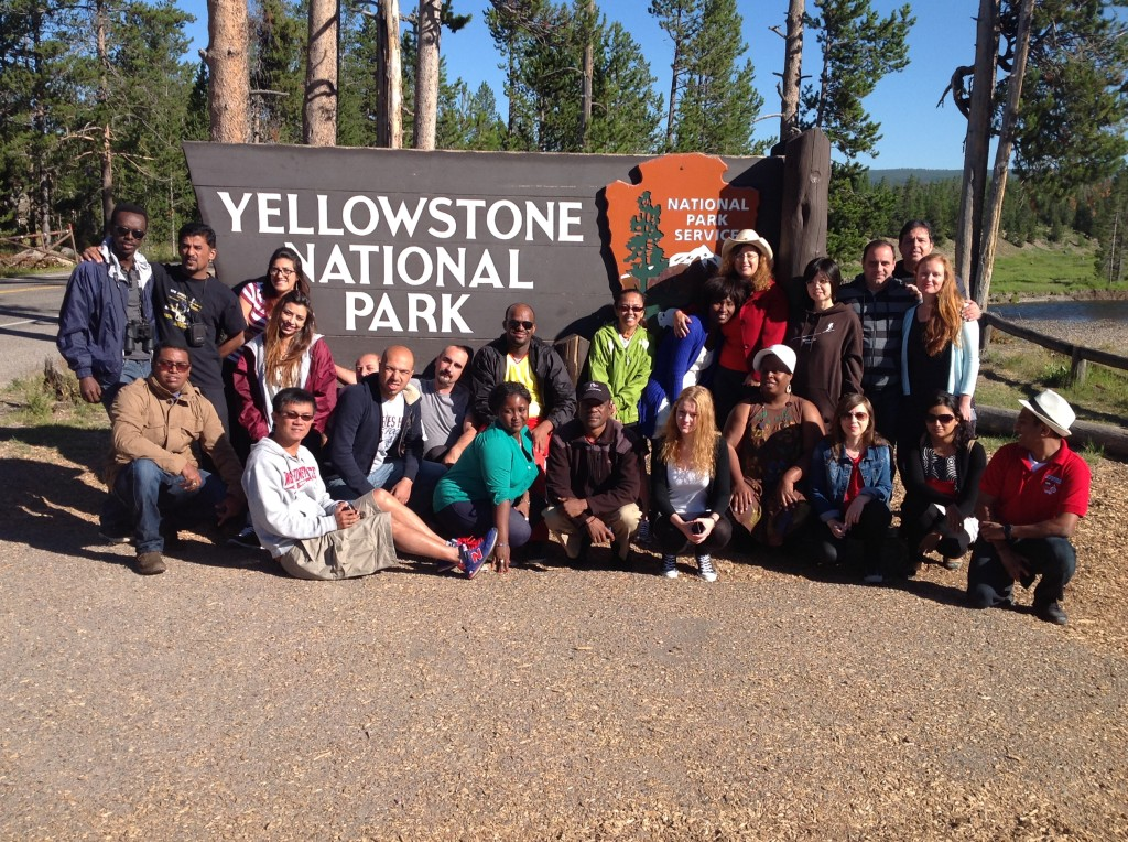 #IVLP, Yellowstone National Park, Wyoming, USA, 2014