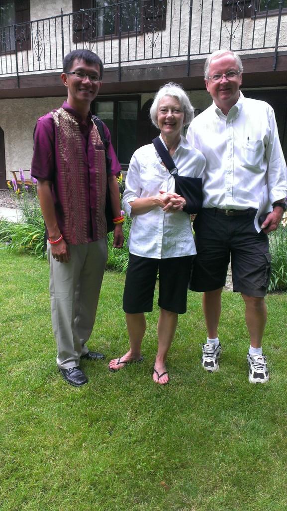 Americans hospitality at Joel and Marta's house, Minnesota, USA, 2014