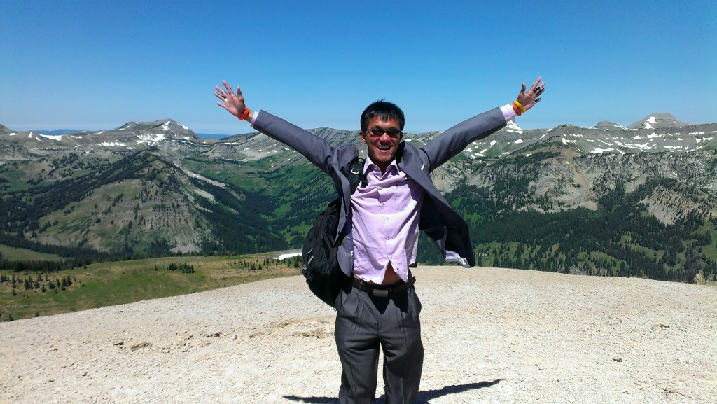 #IVLP, Jackson Hole, Wyoming, USA, 2014