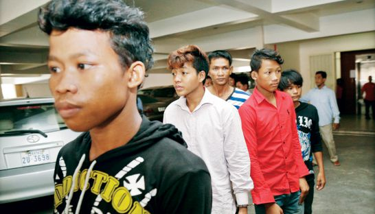 "Gang-rapists ""bauk"" and killed an entertainment worker at Po Senchey, Phnom Penh last month."