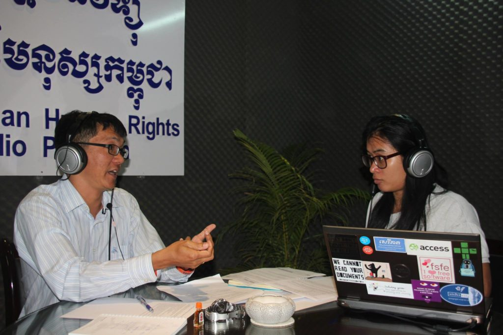 Soprach shared his successful work in promoting human rights. CCHR Radio, 2015.