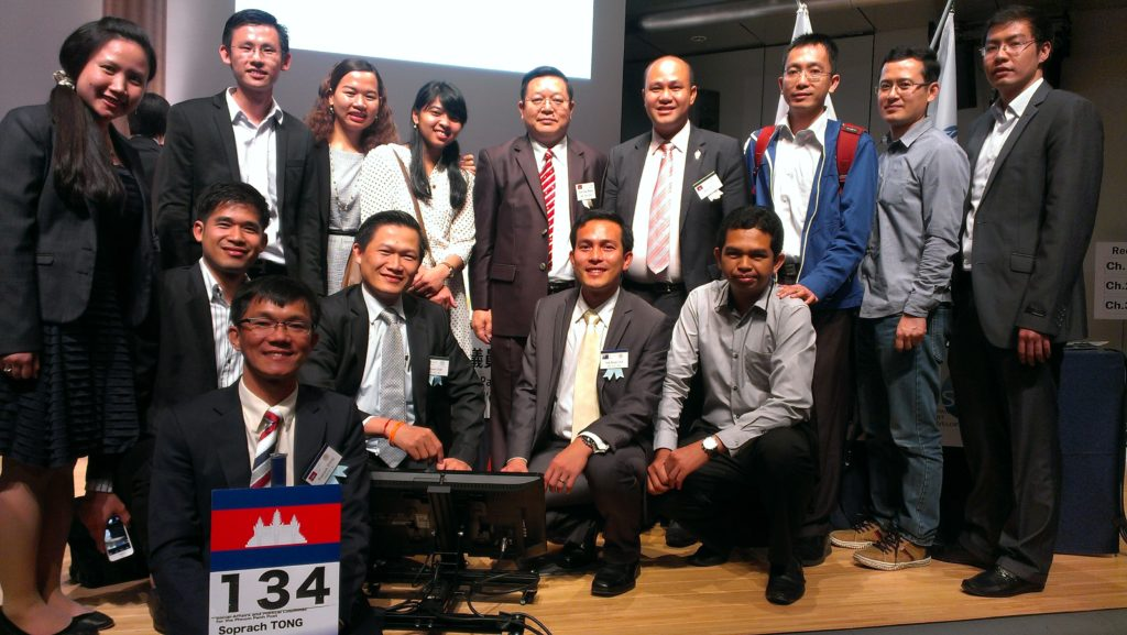 Cambodian Delegations in Tokyo, May 2015.