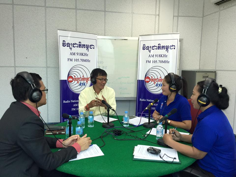 Soprach joined in Round Table on Youth on Valentine's Day. National Radio, February 2016.