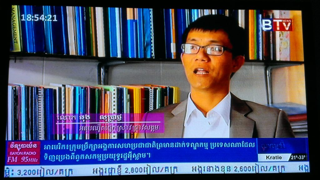 Soprach contributed on ASEAN Integration, BTV, 2015.