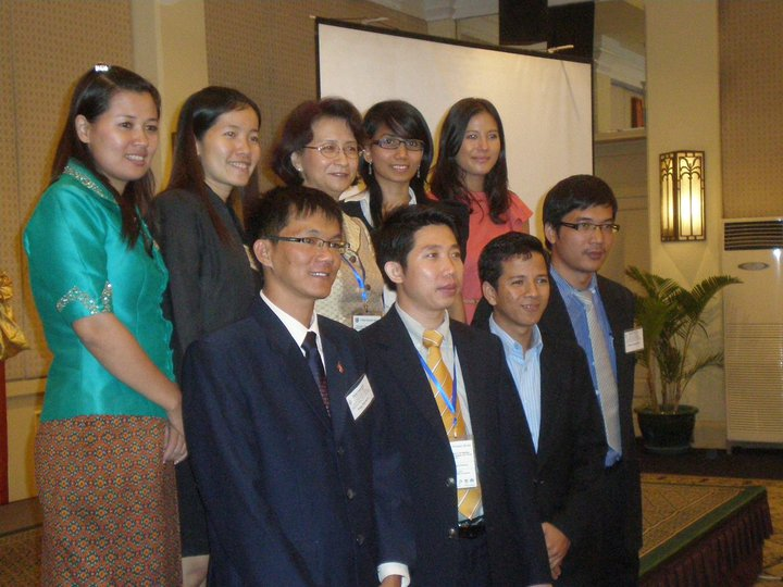 UC Young Leaders attended the 7th Asian Economic Forum, Phnom Penh. by UC/Pacific Forum CSIS
